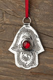 Hand of Fatima amulet Stock Images