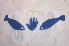 Hand Of Fatima in Tunisia Royalty Free Stock Image