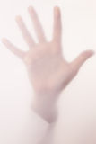 Hand in a fog Royalty Free Stock Photos