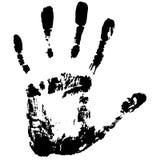 Hand footprint Stock Photo