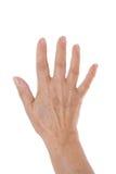 Hand geöffnet Lizenzfreies Stockbild