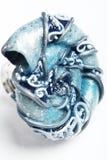 Hand-gearbeiteter Ring Lizenzfreies Stockbild