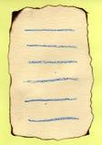 Hand - gemaakt document Stock Afbeeldingen