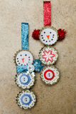 Hand - gemaakt ornament Stock Foto