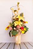 Hand - gemaakte bloemen Stock Afbeelding