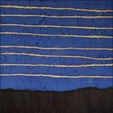 Hand - gemaakte document textuur Royalty-vrije Stock Foto