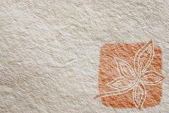 Hand - gemaakte document textuur royalty-vrije illustratie