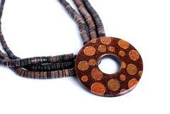 Hand - gemaakte halsband stock afbeeldingen