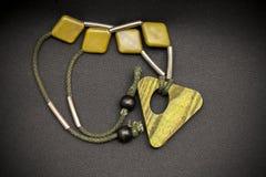 Hand - gemaakte halsband royalty-vrije stock afbeeldingen