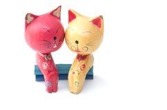 Hand - gemaakte kat Royalty-vrije Stock Afbeeldingen