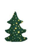 Hand - gemaakte Kerstboom Stock Afbeelding