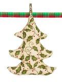 Hand - gemaakte Kerstboom Royalty-vrije Stock Afbeelding