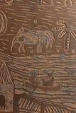 Hand - gemaakte stencil Stock Afbeeldingen