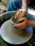 Hand - gemaakte vaas Stock Fotografie