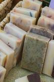 Hand - gemaakte zeep stock afbeelding