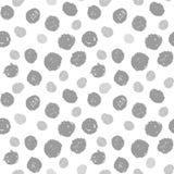 Hand geschilderd puntpatroon Royalty-vrije Stock Foto