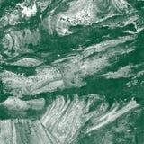 Hand geschilderde abstracte achtergrond Marmeren textuur Stock Foto