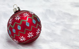 Hand Geschilderde Kerstmissnuisterij Royalty-vrije Stock Afbeelding