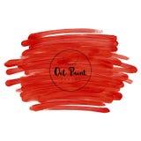 Hand geschilderde olietextuur Stock Afbeelding
