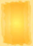 Hand geschilderde oranje achtergrond royalty-vrije illustratie