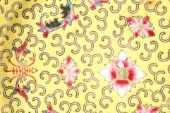 Hand geschilderde plaat Royalty-vrije Stock Fotografie