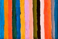 Hand geschilderde strepen Stock Foto