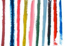 Hand geschilderde strepen Royalty-vrije Stock Foto's