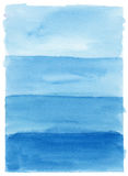 Hand geschilderde waterverfachtergrond Stock Fotografie