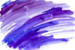 Hand geschilderde waterverfachtergronden Stock Foto