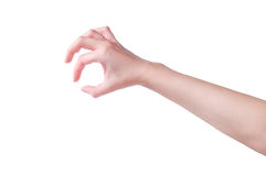 Hand with gesture Royalty Free Stock Images