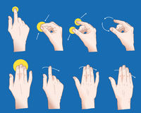 Hand Gesture stock illustration