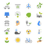 Hand Gesture Flat Color Icons Royalty Free Stock Photos