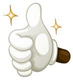 Hand gesture thumb up Stock Photo