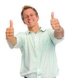 Hand gestures in studio Royalty Free Stock Image