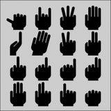 Hand gestures Stock Photo