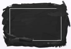 Hand getrokken achtergrond in zwarte Royalty-vrije Stock Foto's