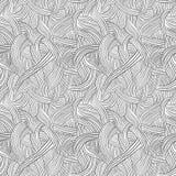 Hand getrokken doddle naadloos patroon Royalty-vrije Stock Afbeeldingen