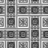 Hand getrokken etnisch naadloos patroon Royalty-vrije Stock Foto's