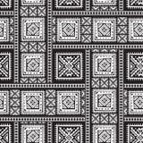 Hand getrokken etnisch naadloos patroon stock illustratie