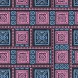 Hand getrokken etnisch naadloos patroon royalty-vrije illustratie