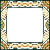 Hand getrokken frame Royalty-vrije Stock Afbeeldingen