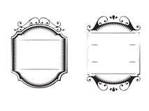 Hand getrokken houten teken zwart-witte kleur Royalty-vrije Stock Afbeeldingen