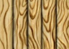 Hand getrokken houten textuur Stock Foto