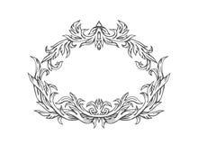 Hand getrokken kader, vector Royalty-vrije Stock Afbeeldingen