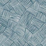 Hand getrokken lijnen naadloos patroon Stock Afbeelding
