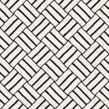 Hand getrokken naadloos het herhalen patroon met lijnen het betegelen Grungy textuur als achtergrond uit de vrije hand Royalty-vrije Stock Afbeelding