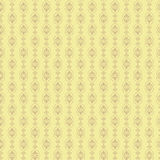 Hand getrokken naadloos oosters patroon als achtergrond Stock Foto
