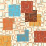 Hand getrokken uitstekend patroon Stock Illustratie