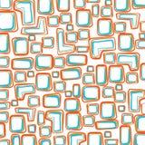 Hand getrokken uitstekend patroon Vector Illustratie