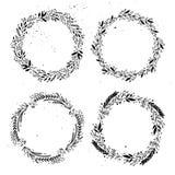 Hand getrokken vectorontwerpelementen Reeks etiketten Royalty-vrije Stock Fotografie